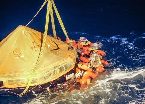 Världens sjöräddningsorganisationer till Göteborg för internationell konferens om massräddning