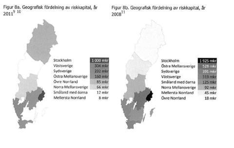 Statliga riskkapitalet enbart till storstadsområden?
