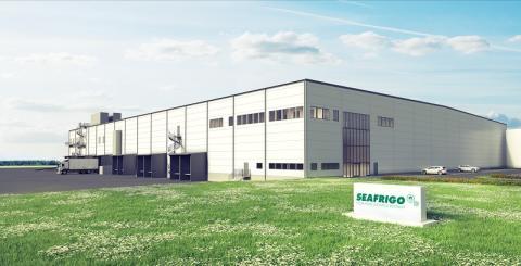 Logistic Contractor utvecklar och bygger logistikanläggning åt Seafrigo Nordic