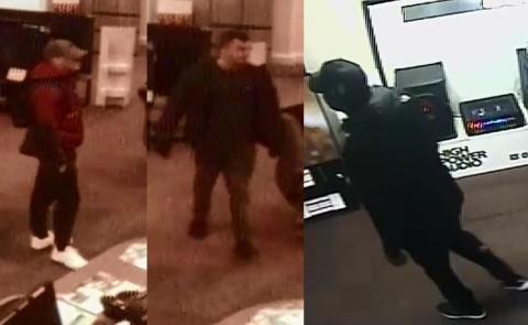 Images released in Aldershot robbery investigation