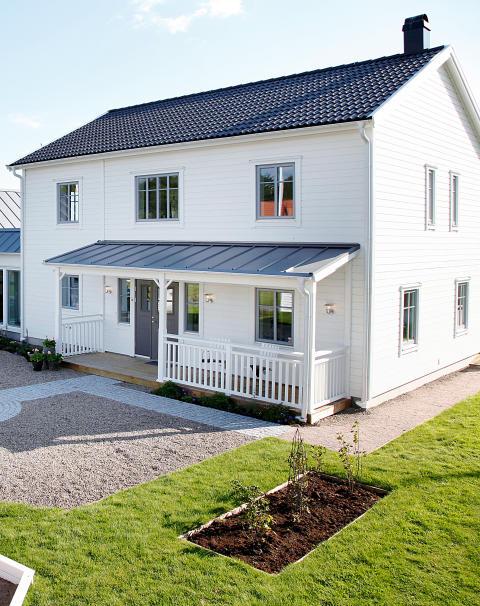 Villa Anneberg på Husknuten i Göteborg