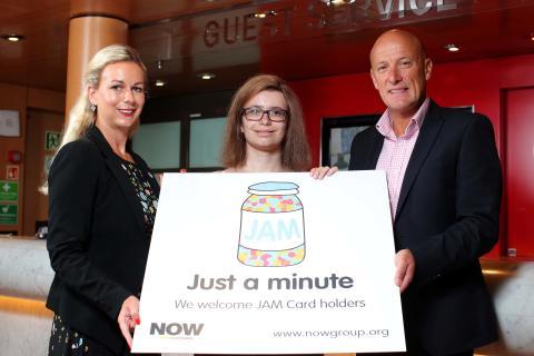 Stena Line becomes a JAM Card Friendly Organisation