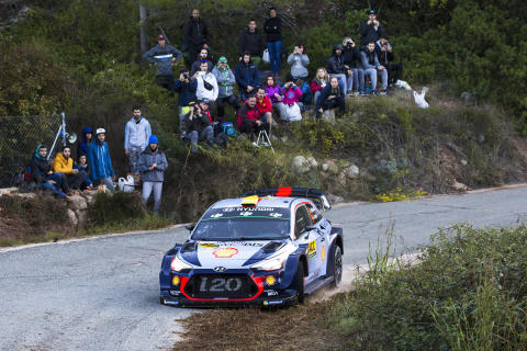 Hyundai Motorsport siktar på seger i Rallye Monte-Carlo 2018.