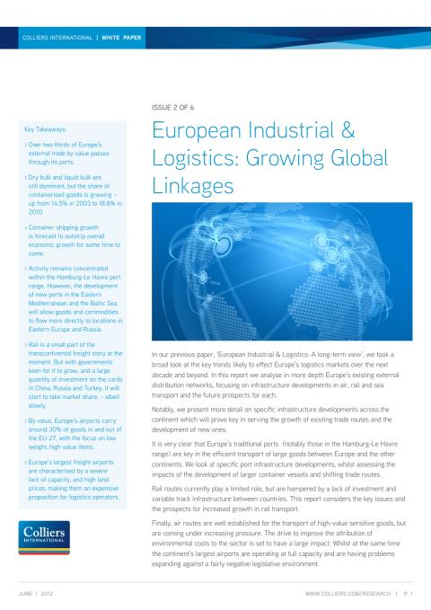 White paper 2 - European Industrial & Logistics: Growing global linkages