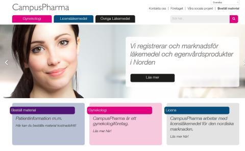 Lansering av vår nya hemsida