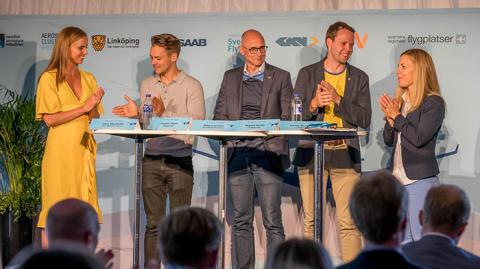 GKN och flygindustrin i Almedalen