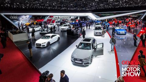 Live streaming of Audi press conference at 2018 Geneva Motor Show
