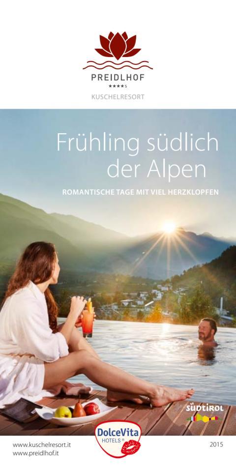Frühling südlich der Alpen im DolceVita Hotel Preidlhof