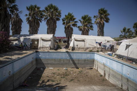 Grekiska krisen slår hårt mot flyktingar