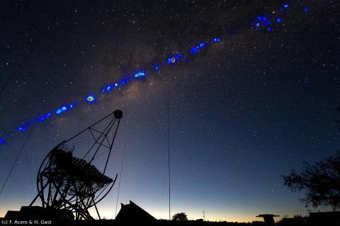 Tjerenkovteleskop och gamma-strålar