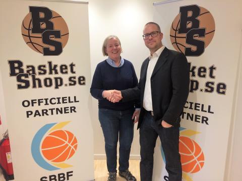 Svenska Basketbollförbundet och Basketshop.se nya partners