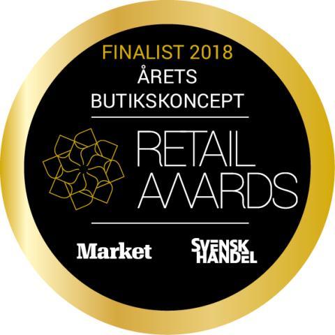 Kronans Apotek stolt finalist i Årets butikskoncept