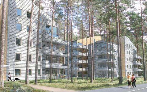 Tyréns nya trähusbolag ska bli först med klimatneutralt byggande
