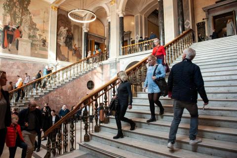 Mer än 500 000 besök på fem månader på Nationalmuseum