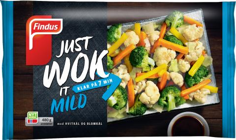 Findus just wok it Mild
