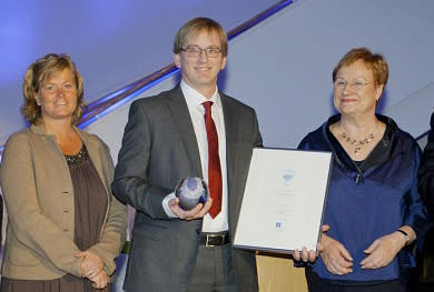 ES Equipment vinnare av Quality Innovation of the Year 2011