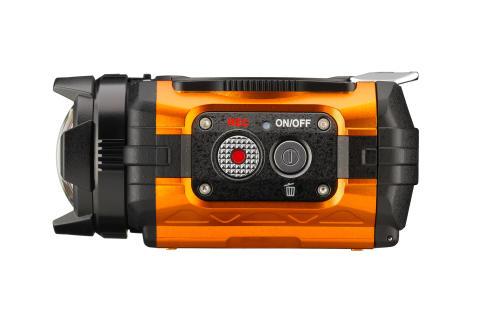 Ricoh WG-1M action-kamera orange fra siden