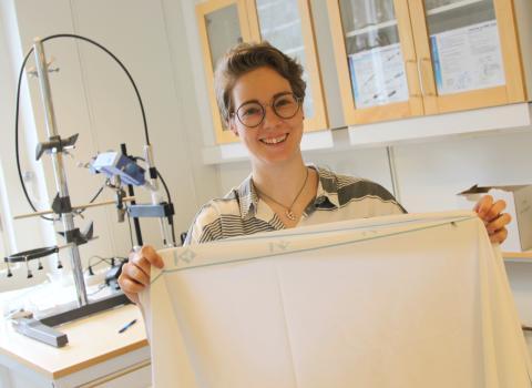Forskning om textilåtervinning ger miljöstipendium