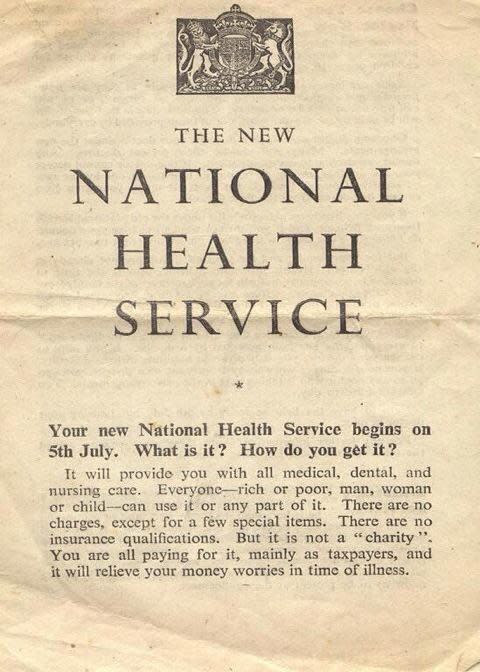 Happy 67th Birthday NHS!