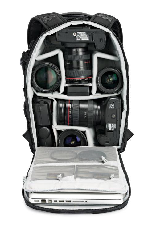 Lowepro Pro Tactic 350 AW pakket med udstyr