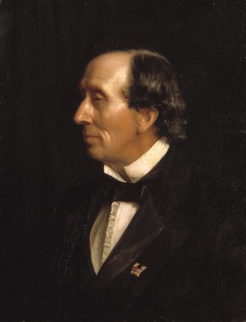 Carl Bloch, Portræt af H.C. Andersen, 1869