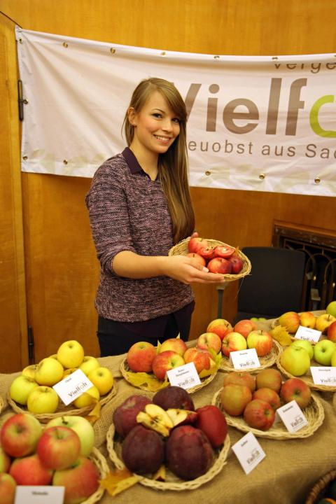 """rund 30 Auststeller aus Leipzig und Umgebung präsentieren sich auf der """"Regionalen Spezialitätenbörse"""""""