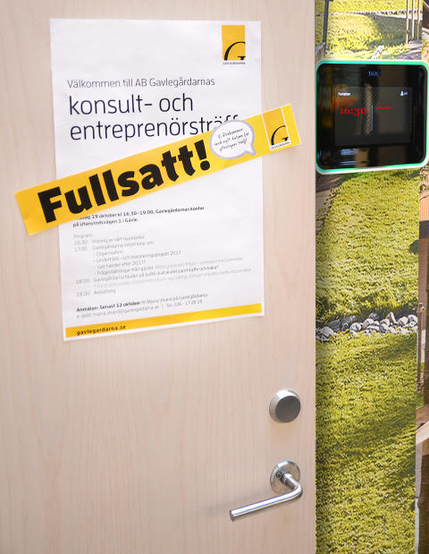 """Entreprenörsträff lockar så många att det blir """"lapp på luckan""""!"""