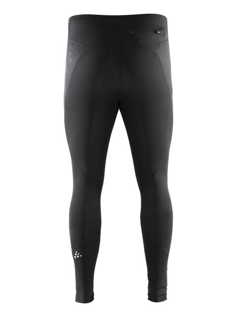 Delta Compression long tights för herr i färgen black