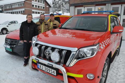 Flesberg Brannvesen: Ny røykdykkerbil har gitt mange fordeler