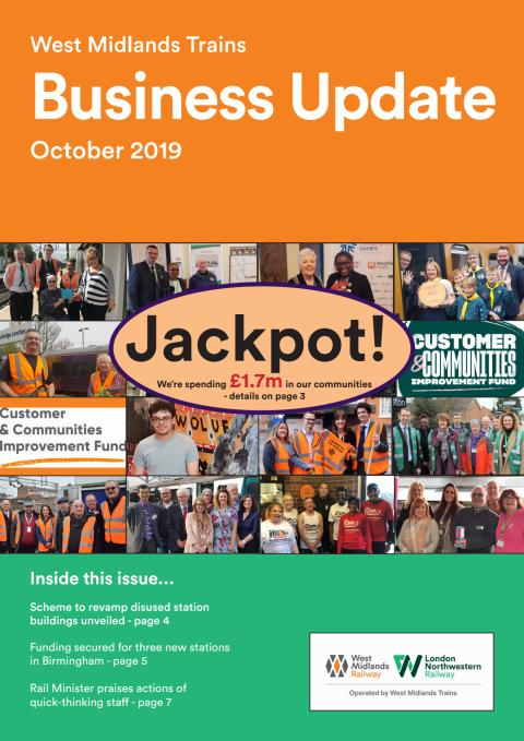 West Midlands Trains Business Update - October 2019
