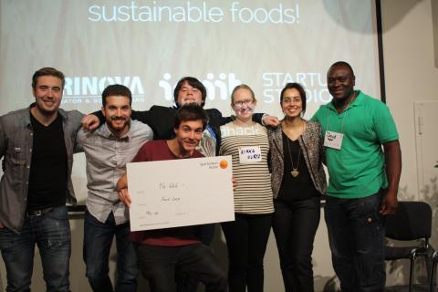 Hack för maten, vinnare störst potential att påverka samhällsutvecklingen 2014
