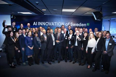 Qamcom becomes a founding partner of AI Innovation of Sweden