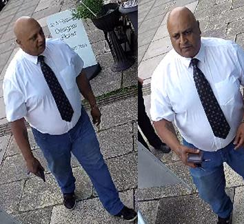 CCTV released in connection with fraud investigation