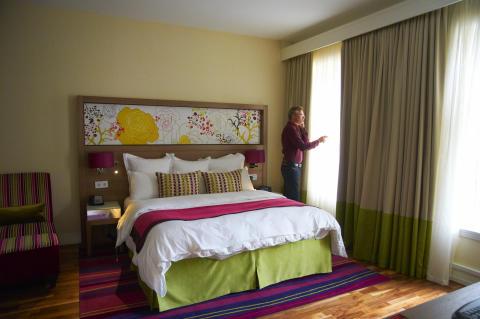 Utländska besökare fyller skånska hotell