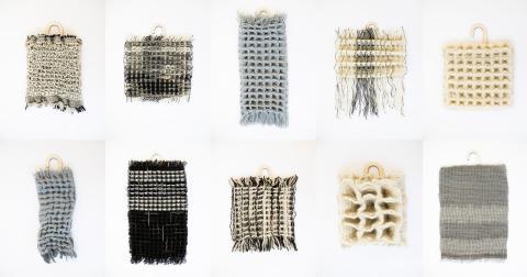 Strukturbiblioteket - an archive of hand woven structures_FOTO_Matilda Dominique