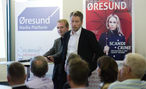 Jesper Falkheimer presenterar medieundersökning