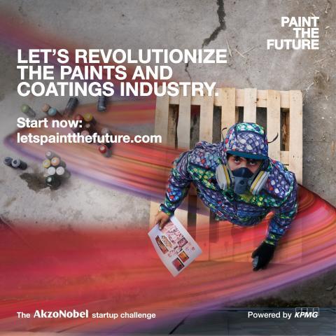 AkzoNobel start-ups prepare to WOW 'Paint the Future' jury