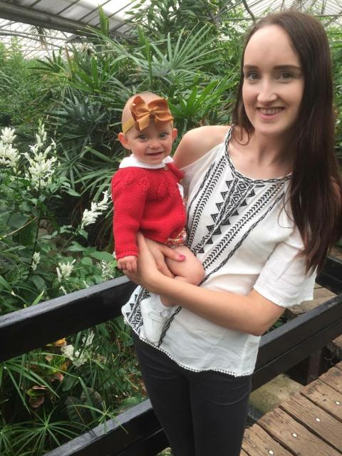 One week to go: Parents of girl born weighing half a bag of sugar show support for charity