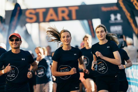 Der Start beim Halbmarathon