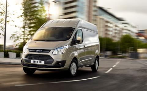 FORD TRANSIT CUSTOM HIGH ROOF - 1