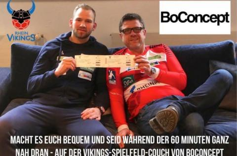 Handballfreunde – Rhein Vikings und BoConcept NRW