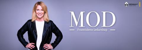 Kattis Ahlström träffar spännande ledare i podcasten Mod - Framtidens ledarskap