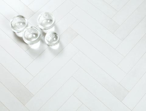 Bjoorn Woodfiber Transparent White