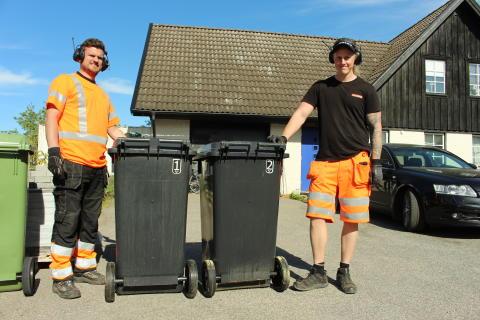 Det nya avfallssystemet är igång  för området Ljunghed-Majåker i Lidköping