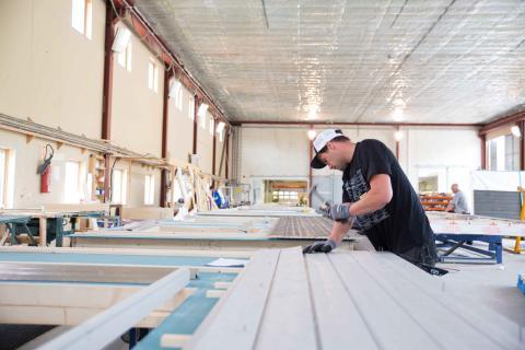 Optimera åpner fabrikk for elementproduksjon i Tysnes