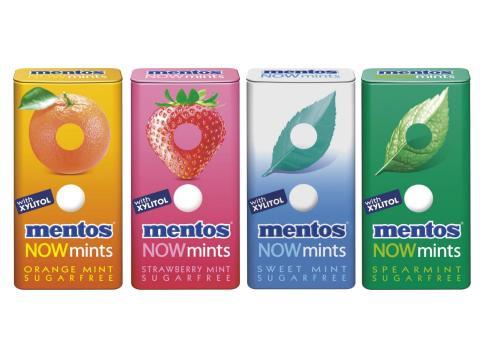 Sju Mentos-nyheter på Pressbyrån, 7-Eleven & Shell