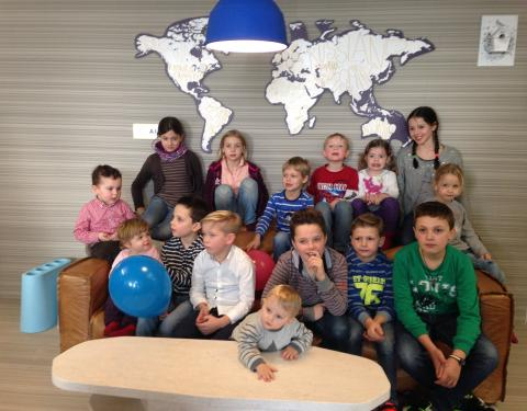 """""""Bring your child to work day"""" bei AIFS"""