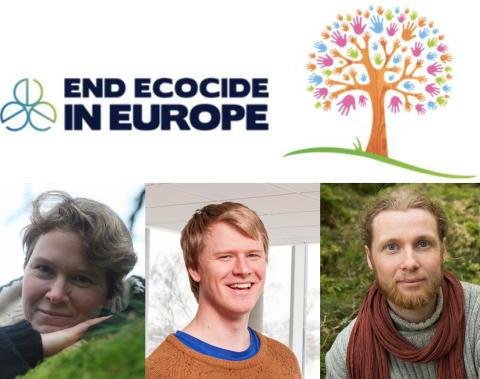 Viktigt samtal om Ekocid och naturens rättigheter, i samband med helgens nationella demonstration. Fredag kl 14 Kulturhuset. Lördag kl 14 Studiefrämjandet