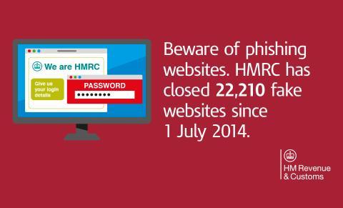 HMRC phishing statistics