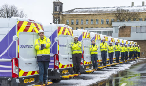 New trainee engineers for Shropshire in Openreach's biggest ever recruitment drive